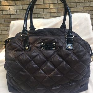 Kate Spade quilted nylon tote.